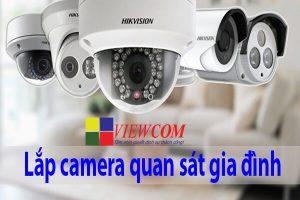 Lắp đặt camera giám sát cho gia đình
