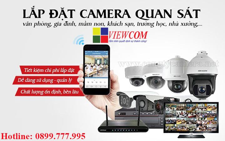 Công ty lắp đặt camera giám sát uy tín tại Tphcm