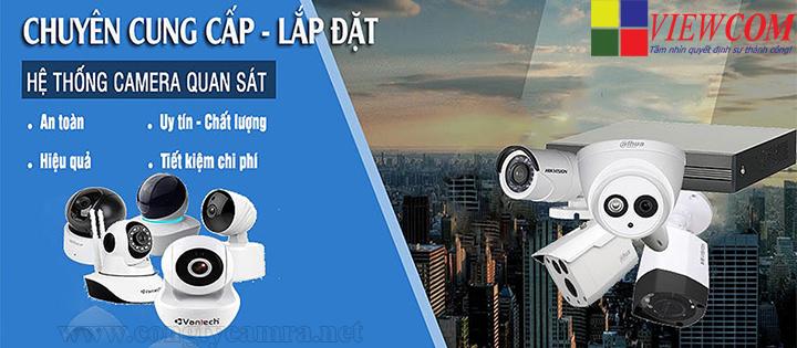 Công ty cung cấp và lắp đặt camera giám sát